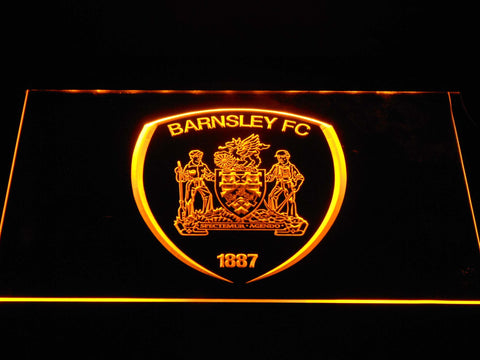 Barnsley F.C. LED Neon Sign - Yellow - SafeSpecial