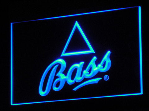 Bass LED Neon Sign - Blue - SafeSpecial