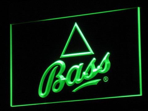 Bass LED Neon Sign - Green - SafeSpecial