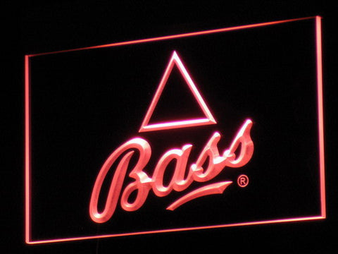 Bass LED Neon Sign - Red - SafeSpecial