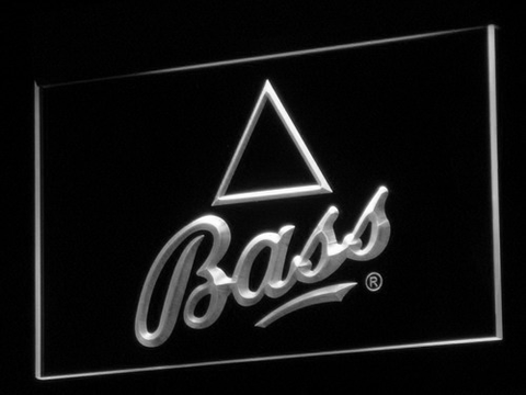 Bass LED Neon Sign - White - SafeSpecial
