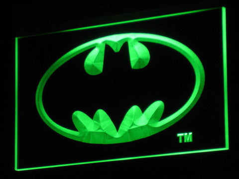 Batman LED Neon Sign - Green - SafeSpecial