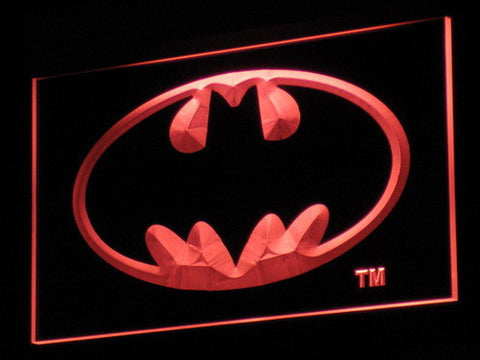 Image of Batman LED Neon Sign - Red - SafeSpecial