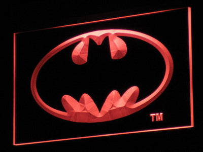 Batman LED Neon Sign - Red - SafeSpecial