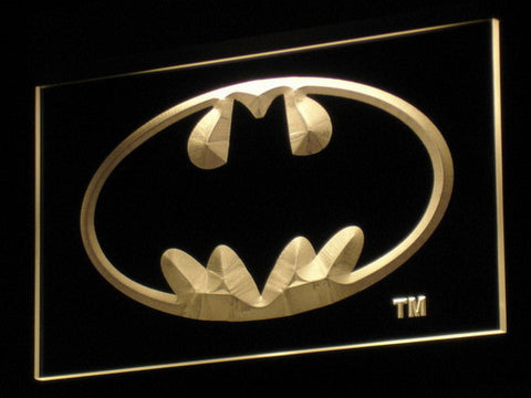 Batman LED Neon Sign - Yellow - SafeSpecial