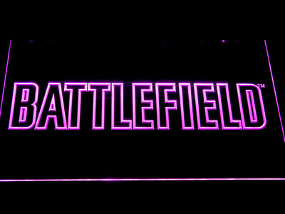 Battlefield LED Neon Sign - Purple - SafeSpecial