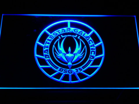 Battlestar Galactica LED Neon Sign - Blue - SafeSpecial