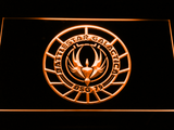 Battlestar Galactica LED Neon Sign - Orange - SafeSpecial