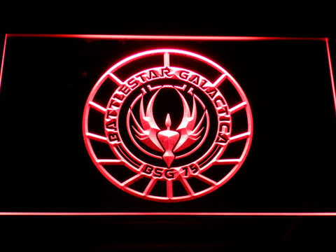 Battlestar Galactica LED Neon Sign - Red - SafeSpecial