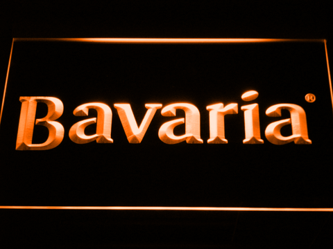 Bavaria LED Neon Sign - Orange - SafeSpecial