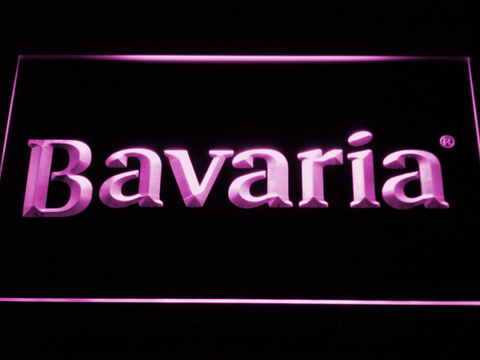 Image of Bavaria LED Neon Sign - Purple - SafeSpecial