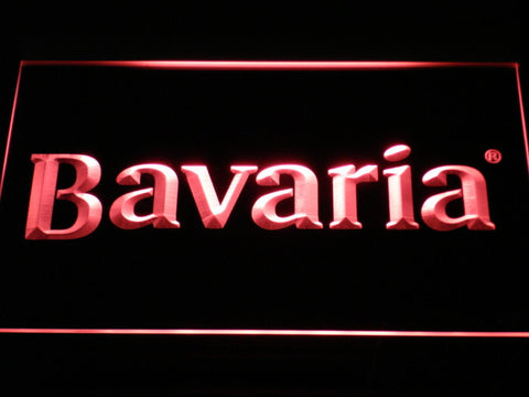 Image of Bavaria LED Neon Sign - Red - SafeSpecial