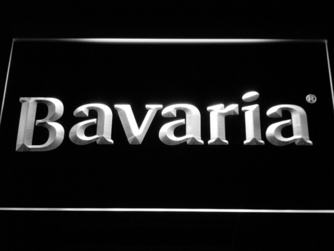 Image of Bavaria LED Neon Sign - White - SafeSpecial