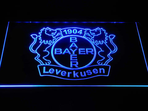 Bayer 04 Leverkusen LED Neon Sign - Blue - SafeSpecial