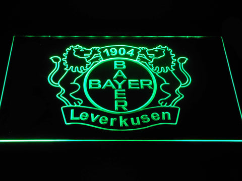 Bayer 04 Leverkusen LED Neon Sign - Green - SafeSpecial