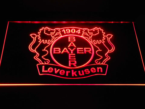 Bayer 04 Leverkusen LED Neon Sign - Red - SafeSpecial
