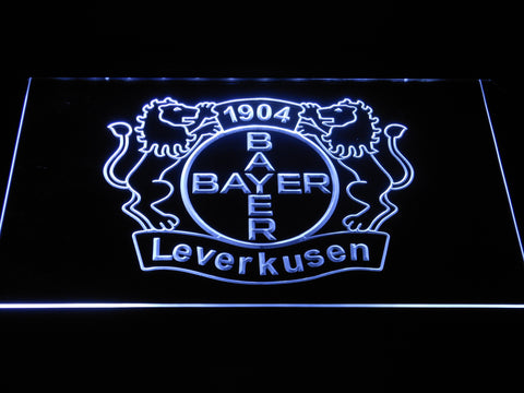 Bayer 04 Leverkusen LED Neon Sign - White - SafeSpecial