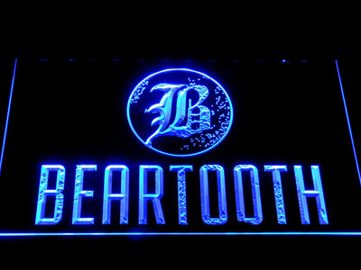 Beartooth LED Neon Sign - Blue - SafeSpecial