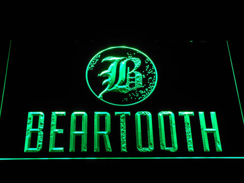 Beartooth LED Neon Sign - Green - SafeSpecial