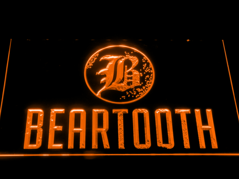 Beartooth LED Neon Sign - Orange - SafeSpecial