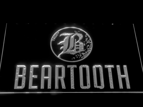 Beartooth LED Neon Sign - White - SafeSpecial