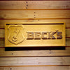 Beck's Wooden Sign - Small - SafeSpecial