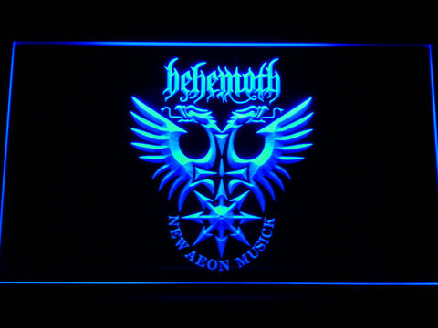 Behemoth LED Neon Sign - Blue - SafeSpecial