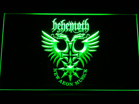 Behemoth LED Neon Sign - Green - SafeSpecial