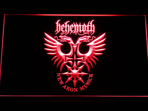 Behemoth LED Neon Sign - Red - SafeSpecial