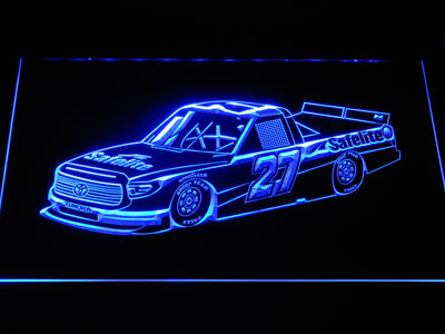 Ben Rhodes Race Car LED Neon Sign - Blue - SafeSpecial