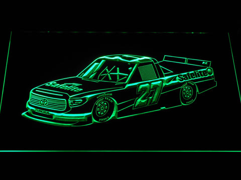 Image of Ben Rhodes Race Car LED Neon Sign - Green - SafeSpecial