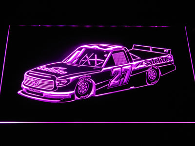 Ben Rhodes Race Car LED Neon Sign - Purple - SafeSpecial