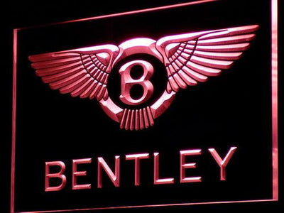 Bentley LED Neon Sign - Red - SafeSpecial