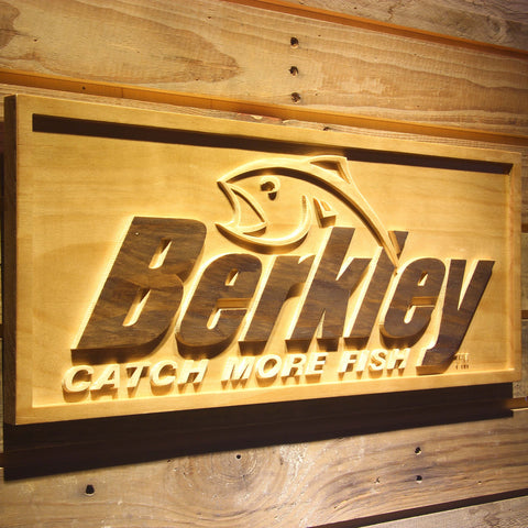 Berkley Wooden Sign - - SafeSpecial