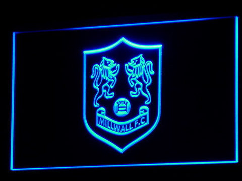 Bermondsey Millwall FC LED Neon Sign - Legacy Edition - Blue - SafeSpecial