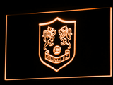 Bermondsey Millwall FC LED Neon Sign - Legacy Edition - Orange - SafeSpecial