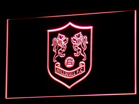 Bermondsey Millwall FC LED Neon Sign - Legacy Edition - Red - SafeSpecial