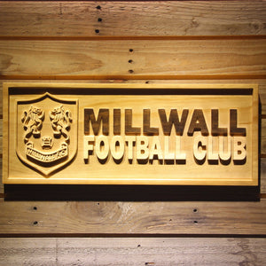 Bermondsey Millwall FC Wooden Sign - Legacy Edition - Small - SafeSpecial