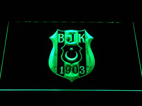 Besiktas JK LED Neon Sign - Green - SafeSpecial