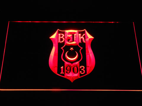 Besiktas JK LED Neon Sign - Red - SafeSpecial