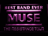 Best Band Ever MUSE LED Neon Sign - Purple - SafeSpecial