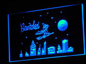 Bewitched LED Neon Sign - Blue - SafeSpecial
