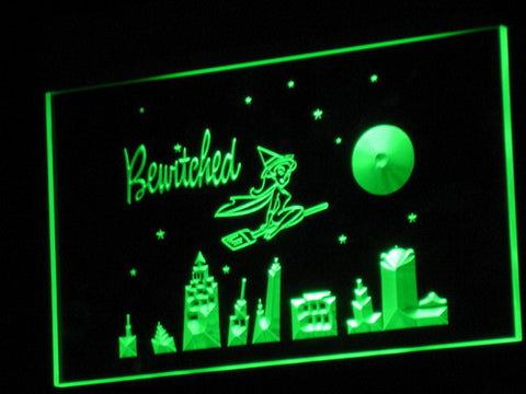 Bewitched LED Neon Sign - Green - SafeSpecial