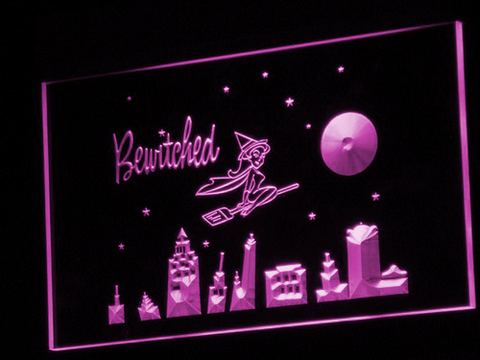 Bewitched LED Neon Sign - Purple - SafeSpecial