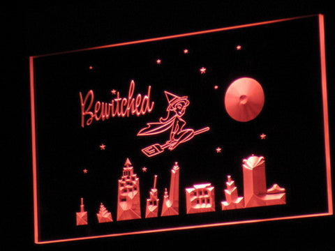 Bewitched LED Neon Sign - Red - SafeSpecial