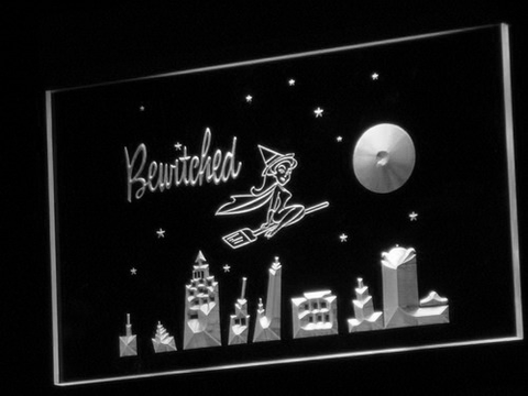 Bewitched LED Neon Sign - White - SafeSpecial