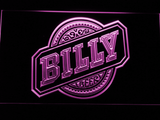 Billy Beer LED Neon Sign - Purple - SafeSpecial