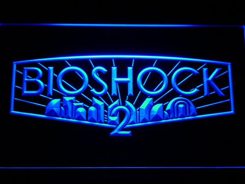 Bioshock 2 LED Neon Sign - Blue - SafeSpecial