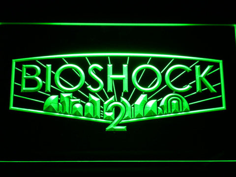 Image of Bioshock 2 LED Neon Sign - Green - SafeSpecial