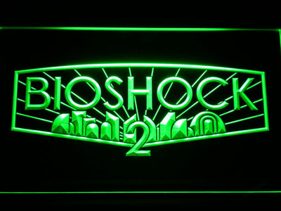 Bioshock 2 LED Neon Sign - Green - SafeSpecial